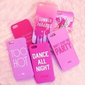 phone cover,iphone 4 case,girly,pink,case for iphone 4/4s/5,summer outfits,too hot,dope