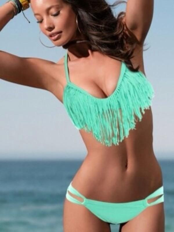 swimwear fringe bikini
