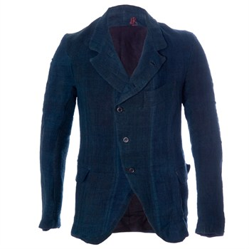 SS13 Hemp Indigo Jacket - De Rien - Products • Pollyanna