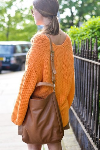 thank fifi blogger sweater skirt shoes bag coat