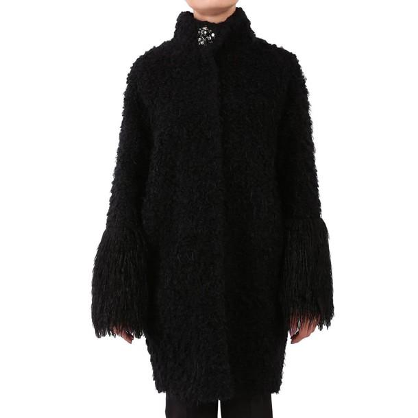 Blugirl coat women black