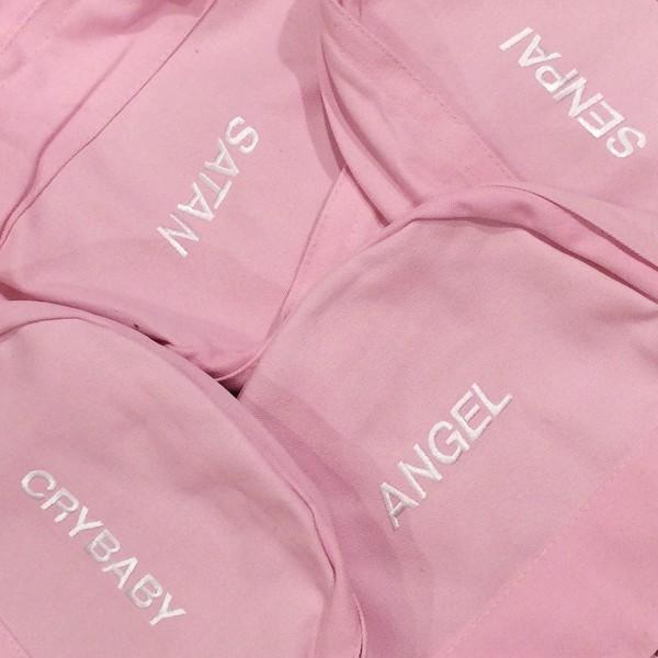 bag tumblr aesthetic aesthetic school bag backpack pink pastel pink