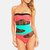 Color-Block with Lace Deal - Tanga
