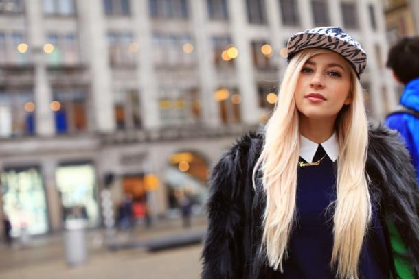 evelinas fashion cafe jacket sweater pants hat shoes bag jewels