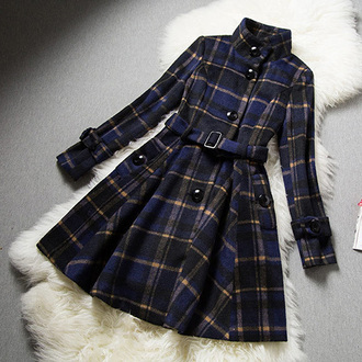 classy fashion noble and elegant beauty girl women new cool warm coat woolen coat long coat warm coat beautiful jumpsuit cute cardigan sexy winter coat