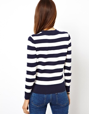 ASOS | ASOS Striped Jumper at ASOS