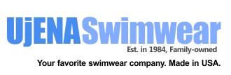 Orange Double Dip 1-PC - Made in USA by UjENA Swimwear