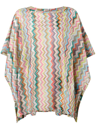 poncho beach women top