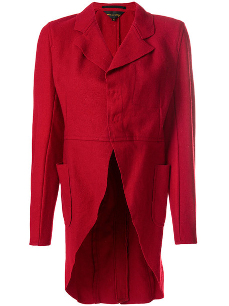 Comme des garcons jacket women wool red