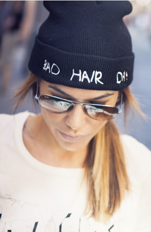 Bad Hair Day Beanie - FrontRowShop