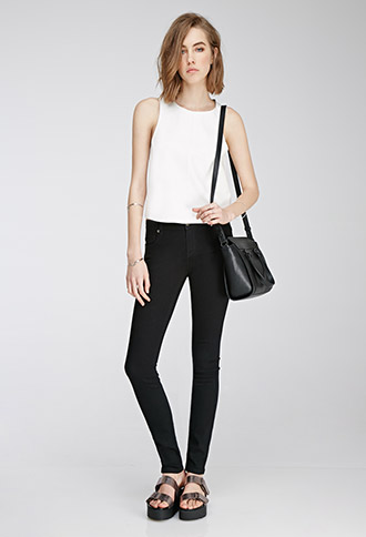 Clean Wash Skinny Jeans | Forever 21 Canada