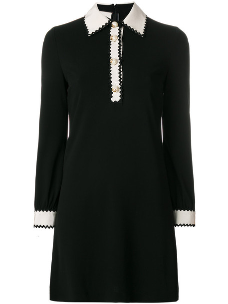 gucci dress women black