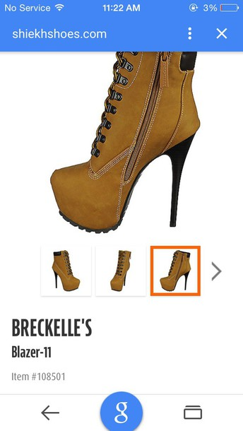 shoes brown high heel boots