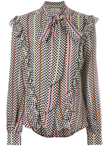 PREEN BY THORNTON BREGAZZI blouse women silk top