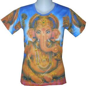 KCK1 Yoga Shirt OM Aum Hindu Ganesh Ganesha Lotus Hobo Boho Hippie Art Print KC | eBay
