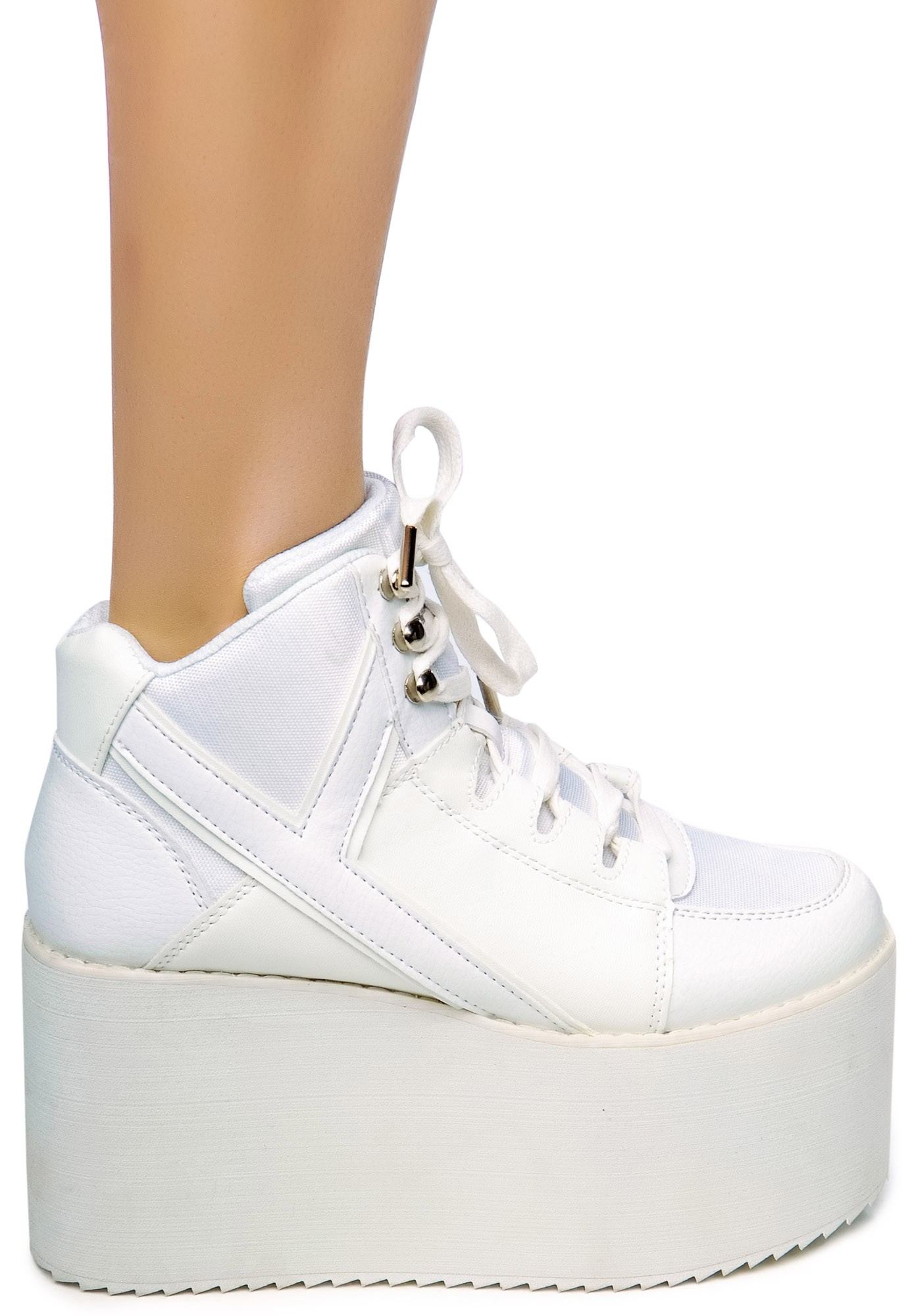 fb72b94033f Y.R.U. Qozmo Hi Platform Sneakers