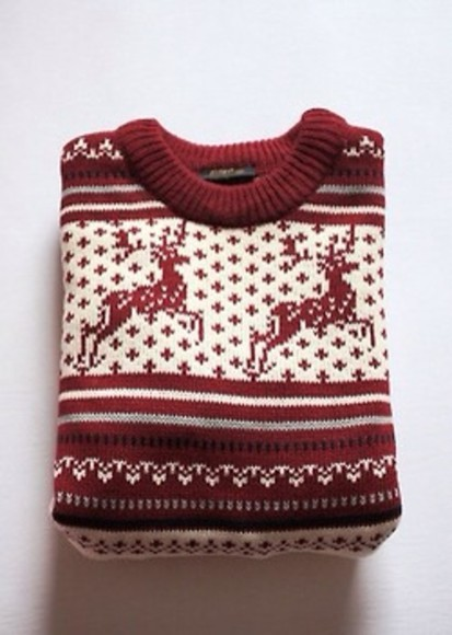 deer christmas sweater