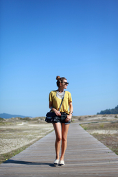 b a r t a b a c,blogger,t-shirt,belt,bag,shoes,jewels,sunglasses,lemongrass