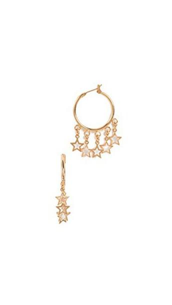 SHASHI earrings hoop earrings gold jewels