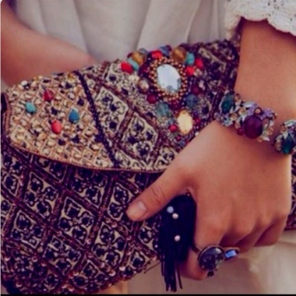 bag clutch purse studded purse