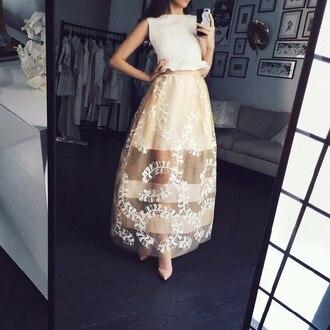 shirt gorgeous beige pretty kawaii formal classy lace dress