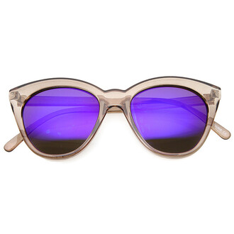 sunglasses mirrored sunglasses cat eye
