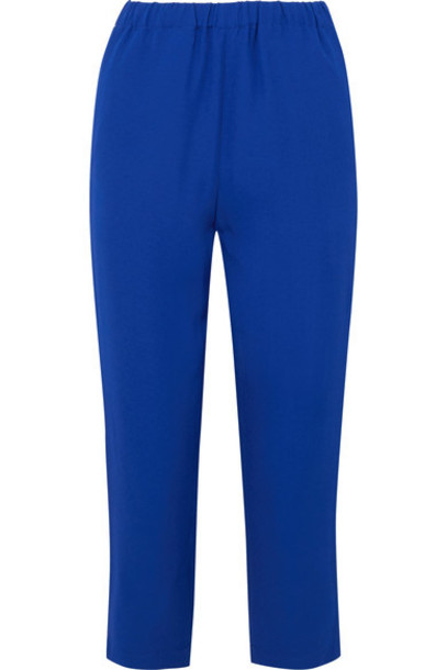 MARNI pants cropped blue