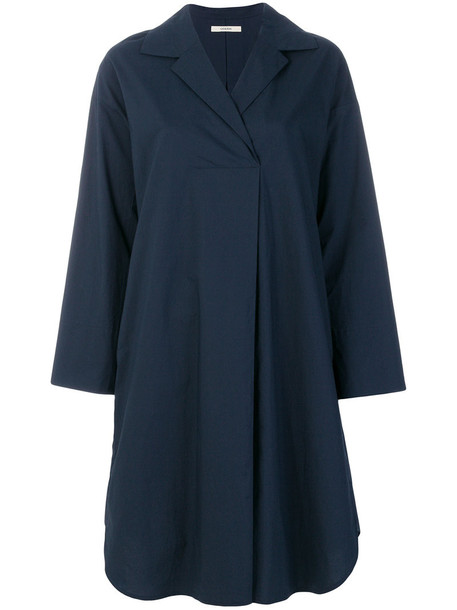 Odeeh dress shirt dress oversized shirt dress oversized women cotton blue
