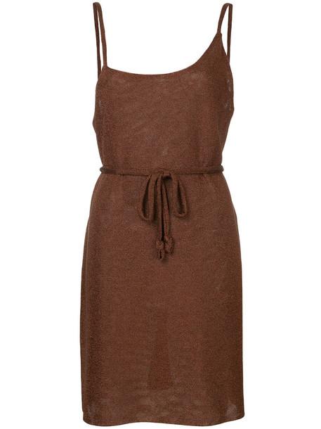 Kacey Devlin dress mini dress mini women brown