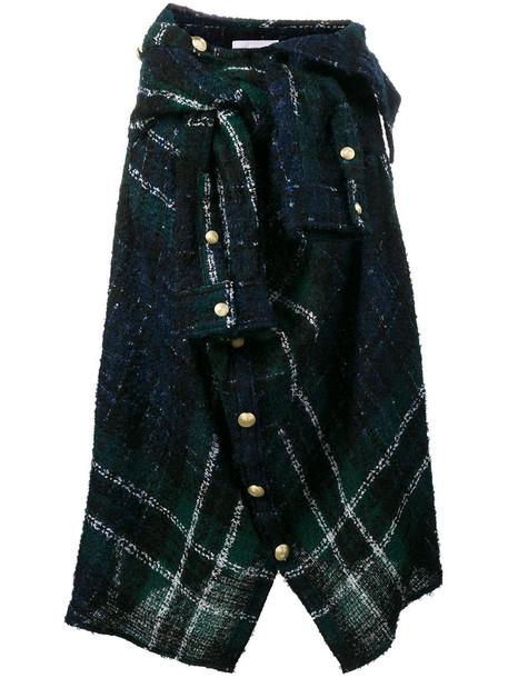 Faith Connexion skirt women cotton blue