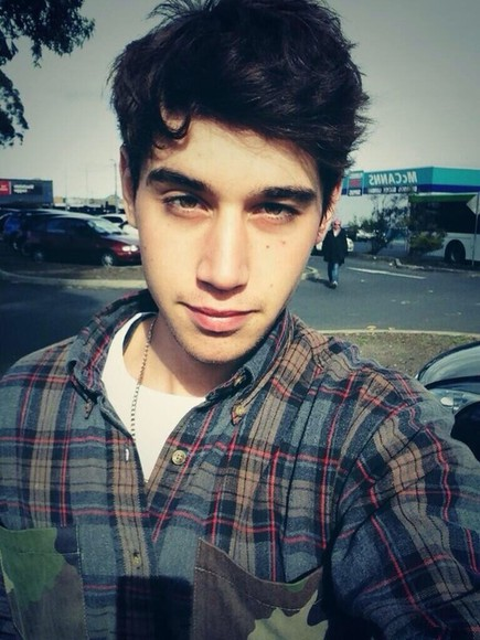 mens shirt brown shirt sweater jai brooks james yammouni beau brooks daniel sahyounie flannel plaid shirt blue grey