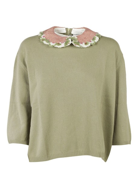 Valentino top embroidered
