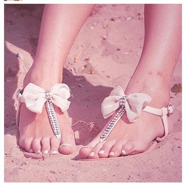 shoes sandals cute bow