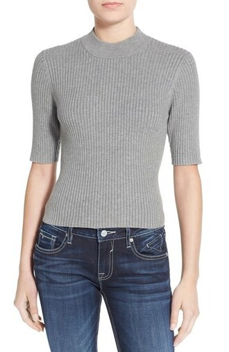 sweater cropped sweater top clothes nordstrom knitwear pullover