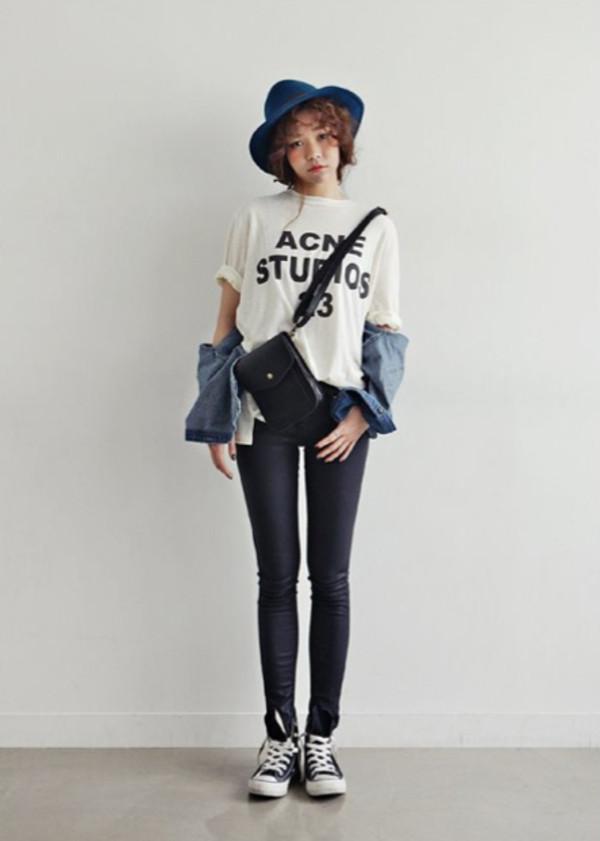 shirt t-shirt t-shirt acne studios studios