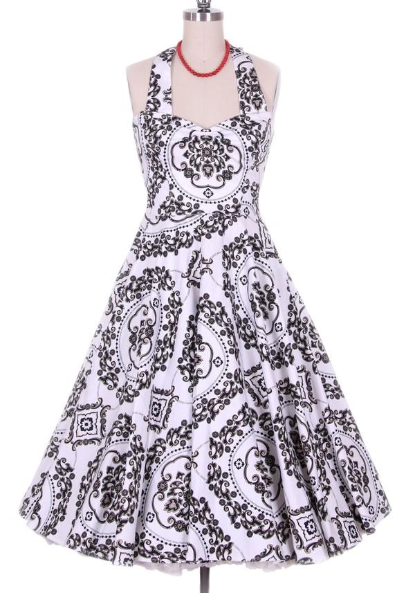 printed dress print fashion dress vintage dress 50s style vintage retro retro dress clothes women dress streetstyle 50s style clothes fashion dress