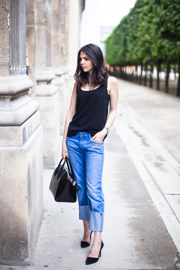 the golden diamonds jeans top shoes jewels bag