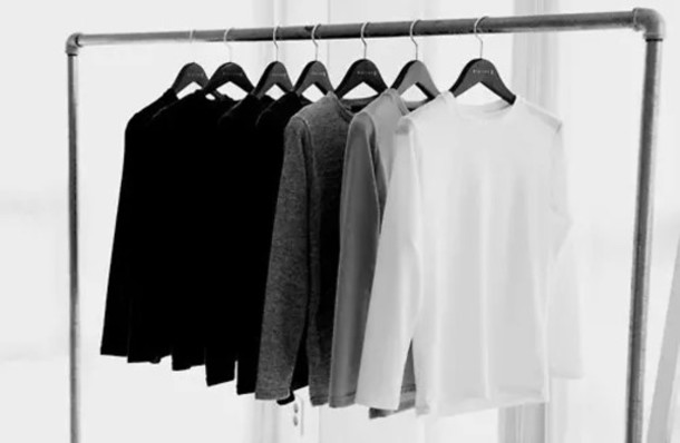 sweater dressing minimalist home decor