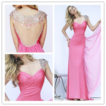Aliexpress.com : Buy Free Shipping Girls Mini Short Evening Romantic Nude Ball Gown Red Applique Design Cocktail Dress from Reliable dresses forever suppliers on Aojia Top Evening Dress