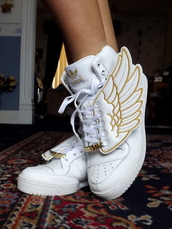 shoes,sneakers,adidas,wings,white,adidas wings,high top sneakers,adidas shoes