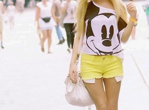 t-shirt shirt mickey mouse