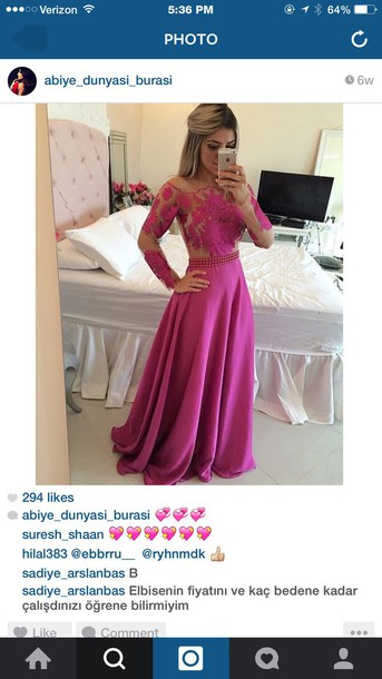 dress formal dress prom dress long dress pink dress