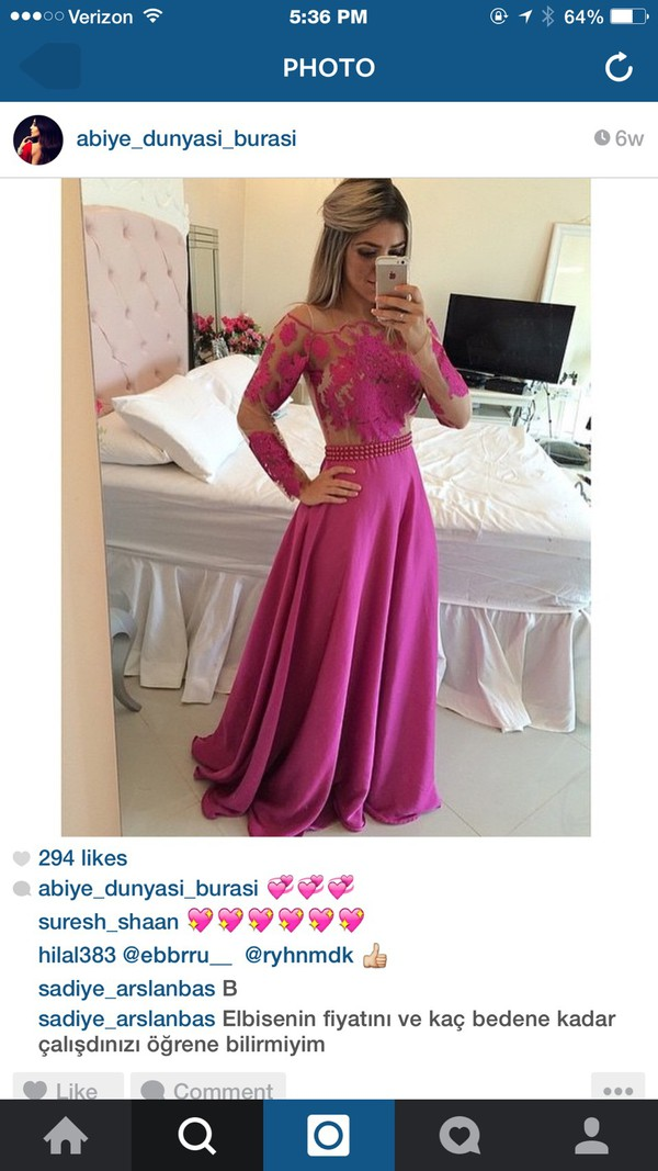 dress formal dress prom dress long dress pink dress