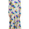 Msgm silk printed dress