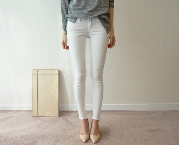 jeans skinny high waisted