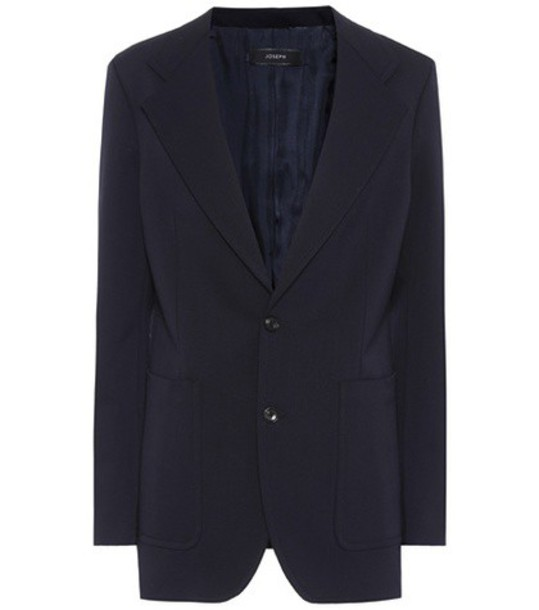 Joseph blazer wool blue jacket