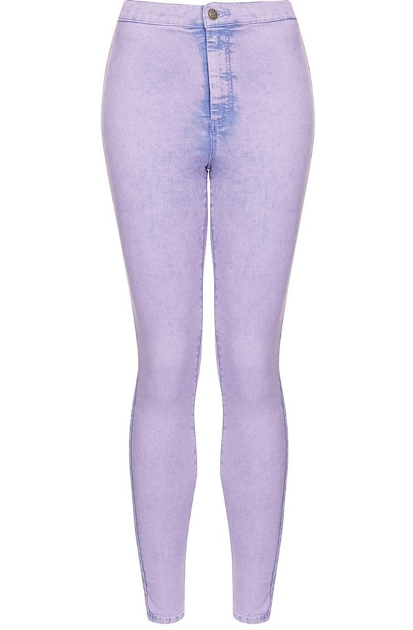 jeans purple acid dye lilac high wasted