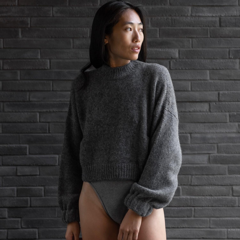 Cozy Alpaca Knit Pullover