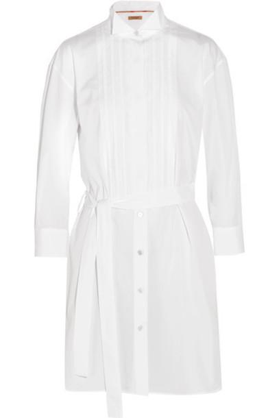 tunic white cotton top