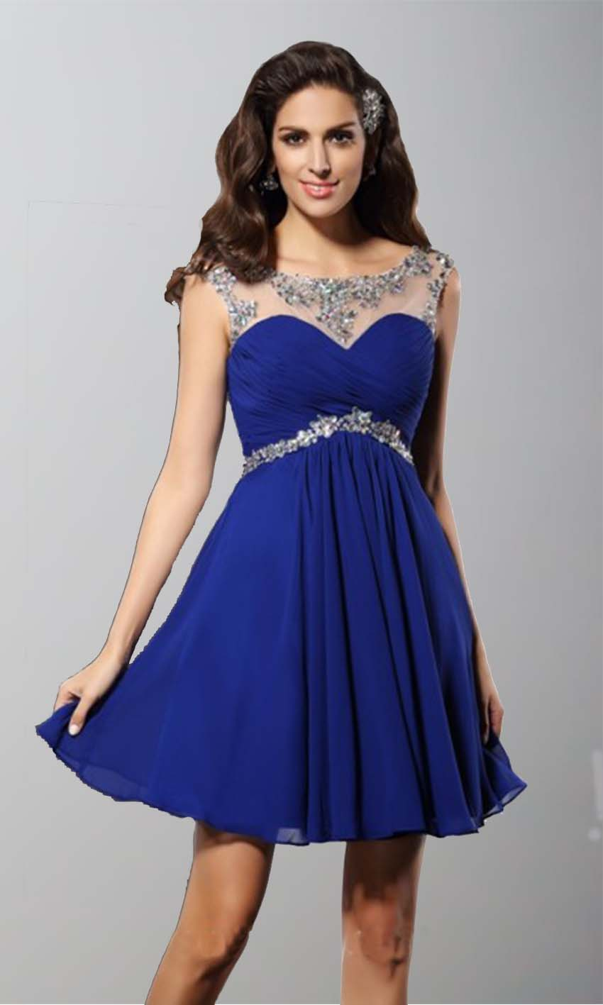 Blue and silver dresses uk cheap